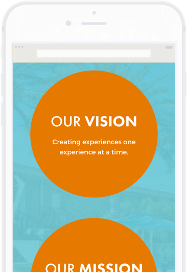 Mobile career site example of a culture page